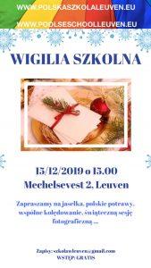 Wigilia Szkolna @ Sint Jan School