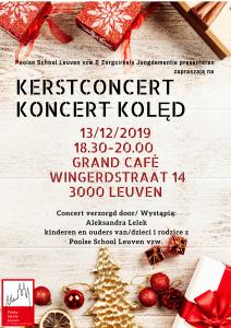 Koncert Świąteczny @ Wingerdstraat 14, 3000 Leuven